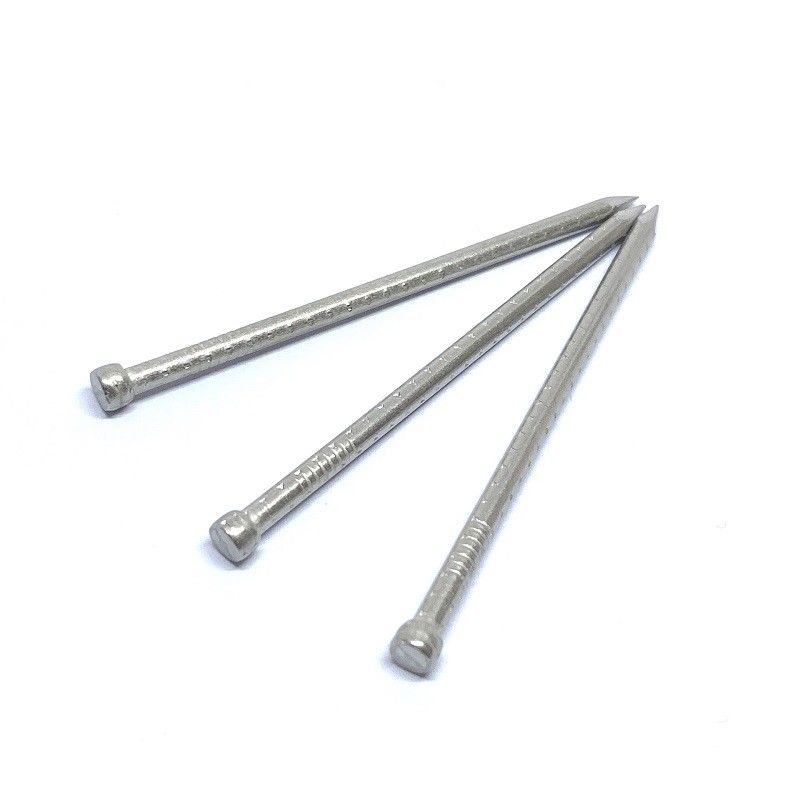 Anti Corrosion SUS316 Lost Head Nails Four Hollow Shank 4.0X100MM