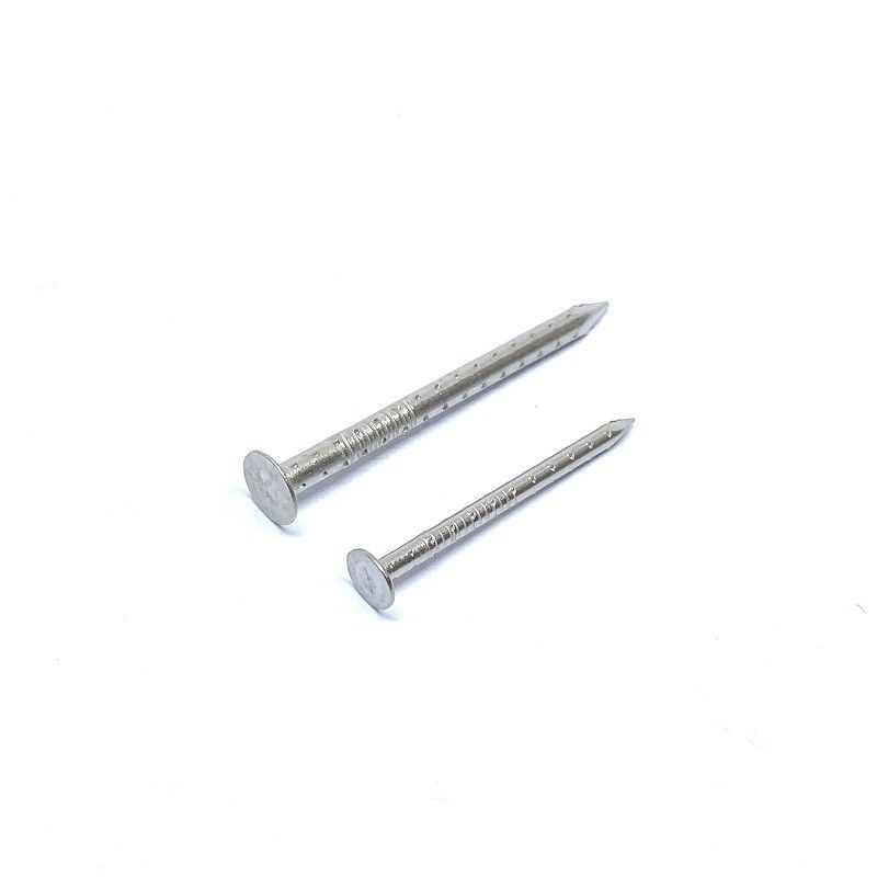2.8 X 35MM SUS304 Flat Head Nails Four Hollow Shank Rust - Protection